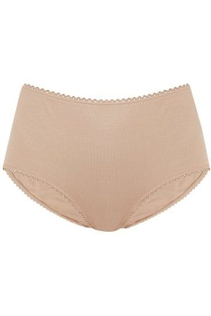 Araks Women Briefs - Mabel Organic-cotton Jersey Briefs - Womens - Nude
