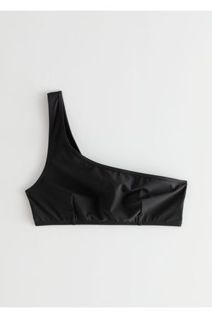 & OTHER STORIES Asymmetric Strap Bikini Top