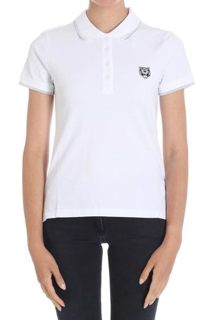 Kenzo Tiger Crest Bottoned Polo