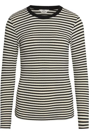 Mads Norgaard 5x5 Stripe Mix Tuba Top - Off /Black