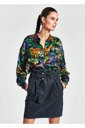 Essentiel Antwerp - Zeen Oversized Printed Shirt