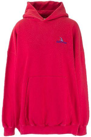Balenciaga Women Sweatshirts - WOMEN'S 620947TKV696627 LIGHT OTHER MATERIALS SWEATSHIRT