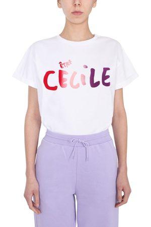 Être Cécile WOMEN'S CECILEGRADOVRHD330GLAVEND OTHER MATERIALS T-SHIRT