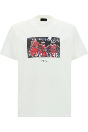 Throwback. Men T-shirts - . MEN'S TBT45S2WHITE OTHER MATERIALS T-SHIRT