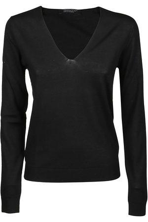 ARAGONA Women Sweaters - WOMEN'S D2319TF101 OTHER MATERIALS SWEATER