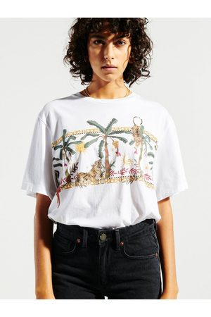 HAYLEY MENZIES Safari Print T-Shirt