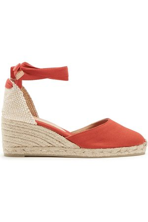Castaner Carina 60 canvas and jute espadrille wedges