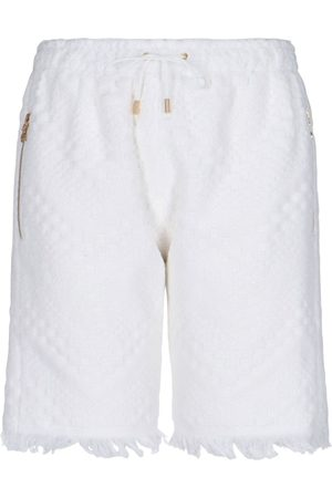 Marine Serre Women Shorts - WOMEN'S PU01083 COTTON SHORTS