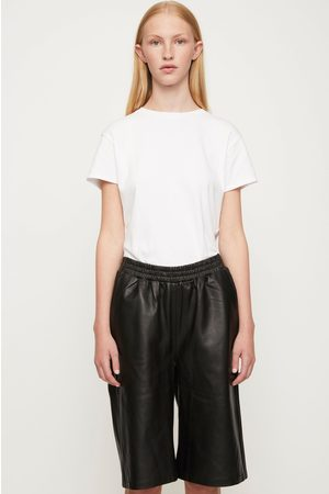 Just Female Paso Leather Bermuda Shorts