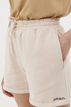 Maison Labiche Amour Beige Shorts