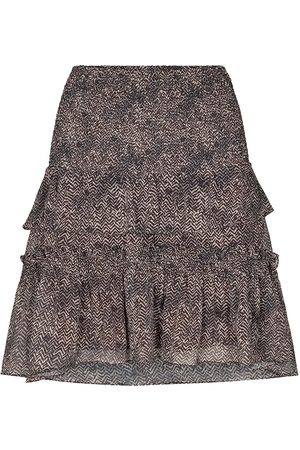 Co`Couture Women Mini Skirts - Cocouture Zorro Mocca Mini Skirt