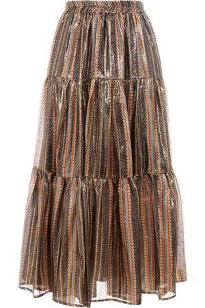Paolita Women Midi Skirts - Urania Ruffle Midi Skirt