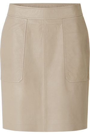 Second Female Francie leather mini skirt