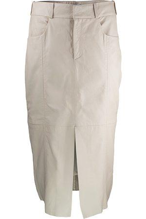 GOOSECRAFT Caroll Leather Skirt
