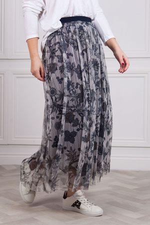 Riani Chiffon Print Skirt