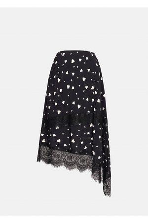 Essentiel Antwerp Zanary Lace Detail Skirt - Combo1 Black Z1BL