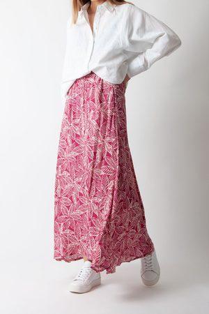 HARTFORD Women Skirts - Joline Skirt in and White Leaves