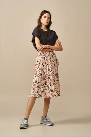 Bellerose Women Skirts - Hostie Skirt with Pockets in Floral