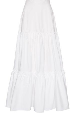 Amotea Women Maxi Skirts - CHARLOTTE LONG SKIRT IN POPLIN