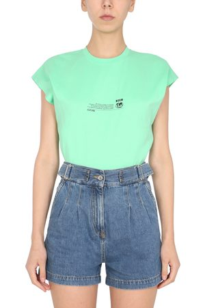 Msgm T-shirt smanicata