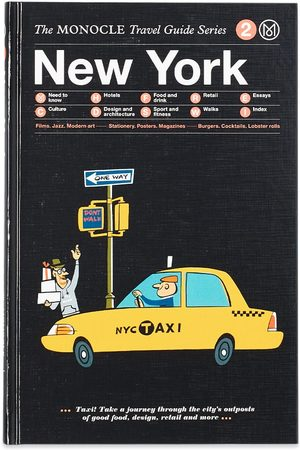 Publications Men Accessories - The Monocle Travel Guide: New York