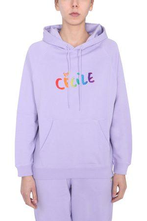 Être Cécile T-shirt with flocked logo