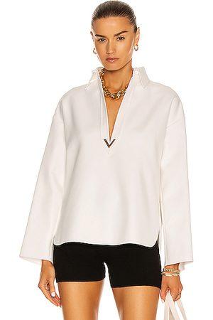 VALENTINO GARAVANI Women Polo Shirts - Polo Top in White