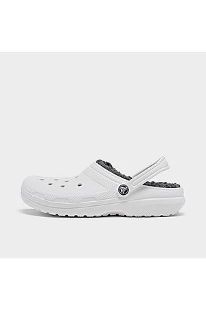 Crocs Clogs - Big Kids' Classic Lined Clog Shoes Size 4.0