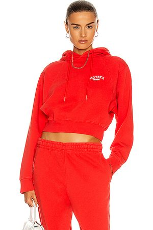 ROTATE SUNDAY Viola Cropped Hoodie in
