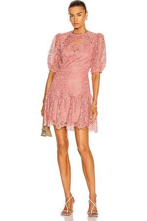 JONATHAN SIMKHAI Giada Mini Dress in Rose