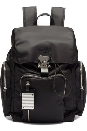 Fpm Milano Butterfly Medium Leather-trim Backpack - Mens