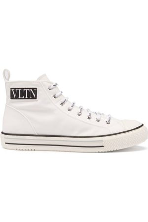 VALENTINO GARAVANI Men Sneakers - Giggies High-top Canvas Trainers - Mens
