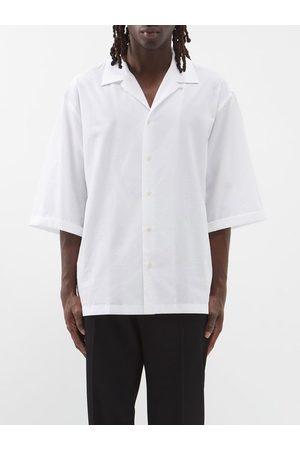 Raey Oversized Camp-collar Cotton-poplin Shirt - Mens