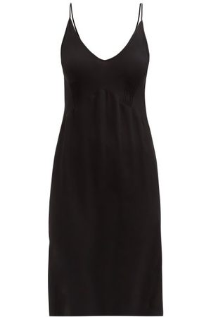 Araks Cadel Pintucked Silk-georgette Slip Dress - Womens