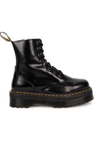 Dr. Martens Women Ankle Boots - Jadon leather flatform ankle boots