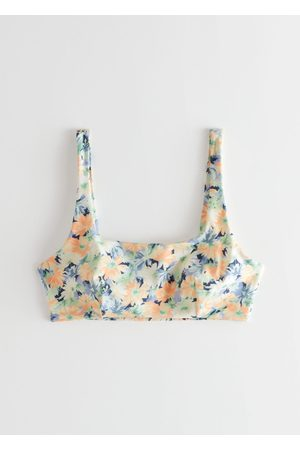 & OTHER STORIES Women Bikinis - Printed Bandeau Bikini Top