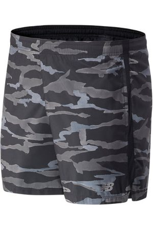 Men Shorts - New Balance Men's Printed Accelerate 5 In Short