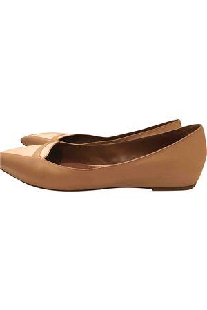 Tabitha Simmons Leather Flats