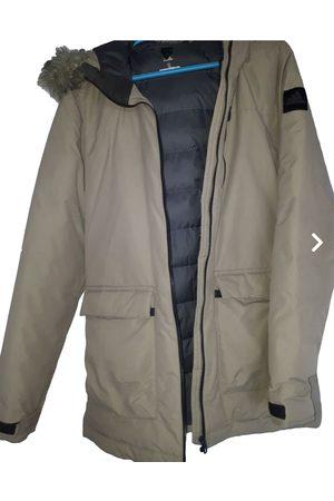 adidas Khaki Faux fur Coats