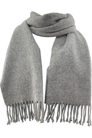 Jean Paul Gaultier Grey Wool Scarves & Pocket Squares