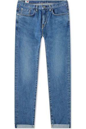 Edwin Men Slim - Slim Tapered Jeans - Made in Japan - Mid Used L30