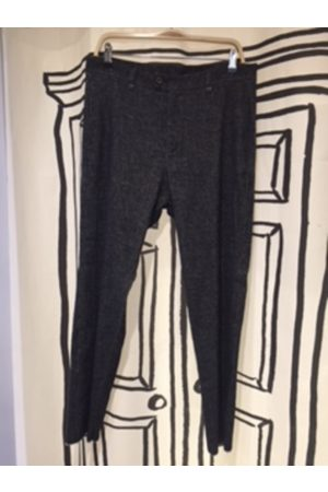 Textured Stretch Trousers in