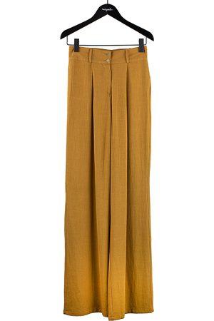 Les bo-hemiennes Women Jeans - Josephine Pants Ochre