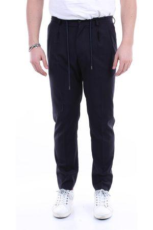 BARBA Men Chinos - Trousers Chino Men Navy