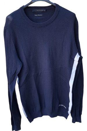 Calvin Klein Navy Cotton Knitwear & Sweatshirts