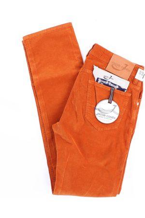 Jacob Cohen Men Jeans - Trousers Regular Men Pumpkin