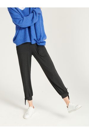 NRBY Anmari jersey ankle tie pant