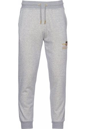 GANT Men Sports Pants - Archive Shield Sweatpants Colour: Grey