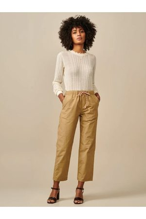 Bellerose Women Jeans - Pizzy Trousers in Clay
