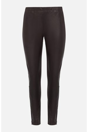 PAROSH Women Leather Pants - Leather Leggings